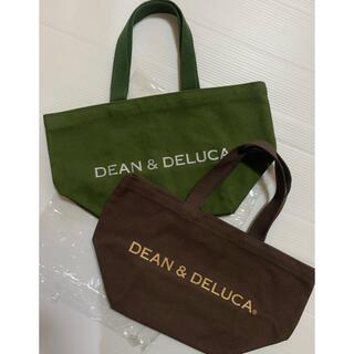 DEAN & DELUCA - DEAN&DELUCA   トート S    ブラウン カーキ
