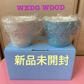 ウェッジウッド(WEDGWOOD)の【新品】ウェッジウッド ペアマグカップ(グラス/カップ)
