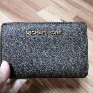マイケルコース(Michael Kors)のMICHAEL KORS  二つ折り財布 (折り財布)