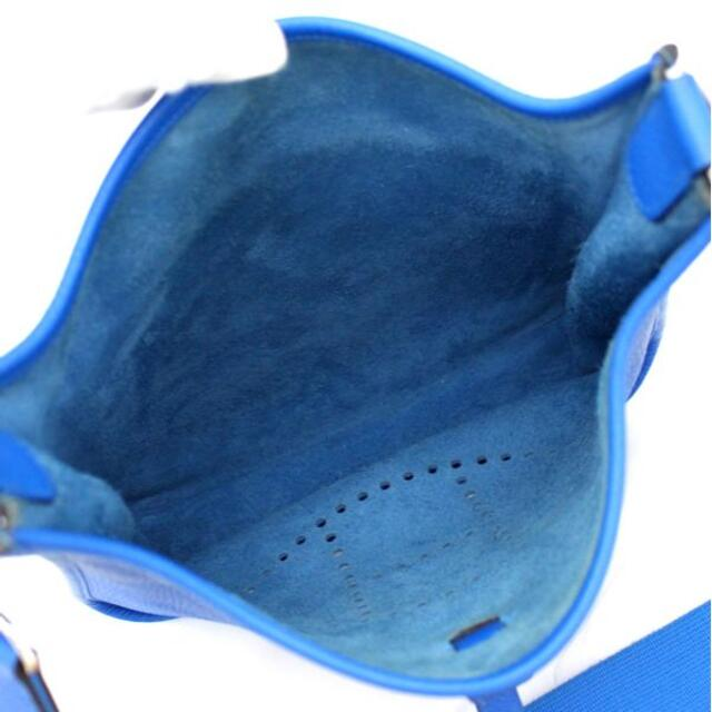 Hermes(エルメス)の【広尾店】エルメス エブリン3PM ブルーイドラ P刻印  バッグ 10100 レディースのバッグ(ショルダーバッグ)の商品写真
