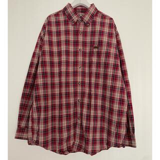 carhartt - H00846 Carhartt カーハート 長袖ボタンダウンシャツ胸ワンポイント