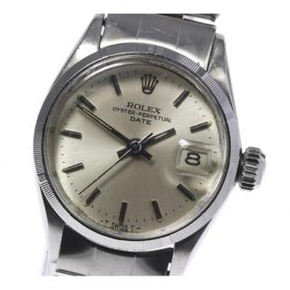 ロレックス(ROLEX)のロレックス オイスターパーペチュアル 6519 レディース 【中古】(腕時計)