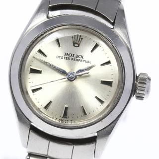 ロレックス(ROLEX)のロレックス オイスターパーペチュアル ref.6618 レディース 【中古】(腕時計)