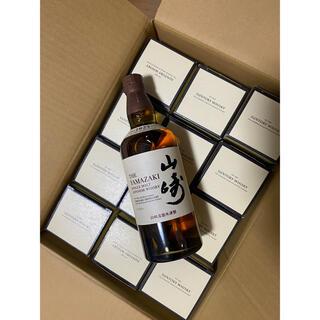サントリー(サントリー)の山崎NV× 12本箱付き(ウイスキー)