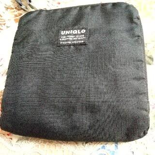 ユニクロ(UNIQLO)のブラックトートバッグ(トートバッグ)