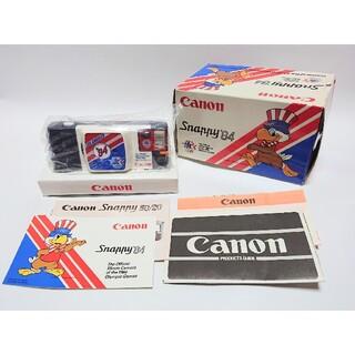 キヤノン(Canon)のキヤノン スナッピィ '84 ロサンゼルス五輪モデル 35mmフィルム 未使用(フィルムカメラ)