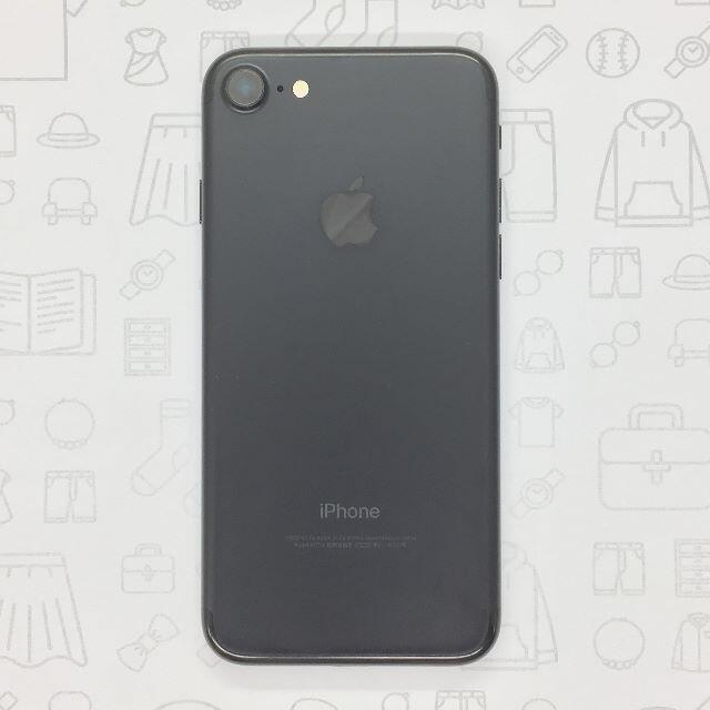 iPhone(アイフォーン)の【B】iPhone 7/32GB/355852080123123 スマホ/家電/カメラのスマートフォン/携帯電話(スマートフォン本体)の商品写真