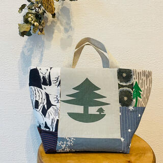 mina perhonen - ハンドメイド ミナペルホネン⚮̈小さなトートバッグ