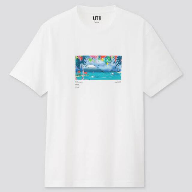 UNIQLO(ユニクロ)の新品激安ネオ・ミヤゲUTユニクロUNIQLO半袖メンズSトロピカル風春夏 メンズのトップス(Tシャツ/カットソー(半袖/袖なし))の商品写真