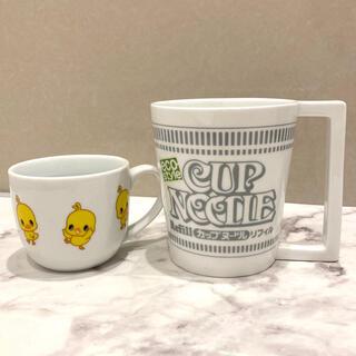 日清 陶器マグカップ