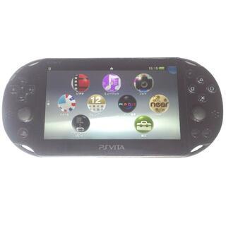 PlayStation Vita - 【良品】PlayStation®Vita ブラック 2000 Wi‐Fiモデル