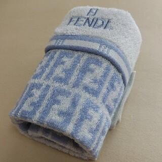 フェンディ(FENDI)の新品未使用 FENDIフェイスタオル(タオル/バス用品)