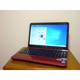 エヌイーシー(NEC)の新品SSD480G オフィス2019 第3世代i5搭載 メモリ8G レッドカラー(ノートPC)