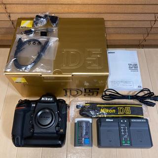 Nikon - 美品 ニコン D5 CF-type シャッター数約16,000回 フルサイズ