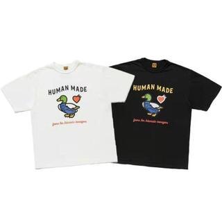 GDC - HUMAN MADE 21AWカジュアルTシャツ白黒2点