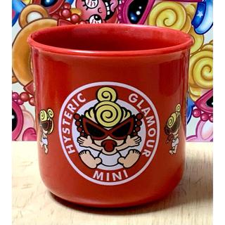 HYSTERIC MINI - ヒスミニ☆正規品☆新品☆プラカップ☆コップ☆赤
