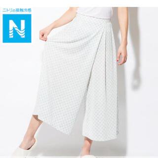 ★ニトリ★Nクール 接触冷感 レディース スカーチョ パンツ L 新品 タグ無