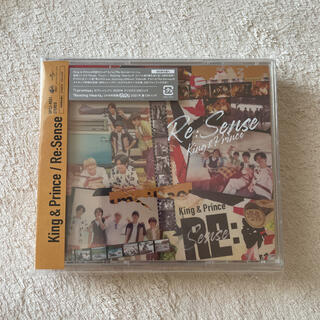 Johnny's - Re:Sense リセンス King & Prince キンプリ 初回限定盤A)