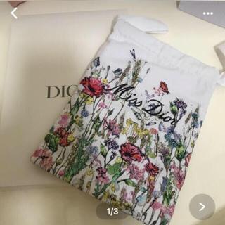 ディオール(Dior)のディオール  巾着ポーチ ミスディオール  新製品発売記念 (ポーチ)