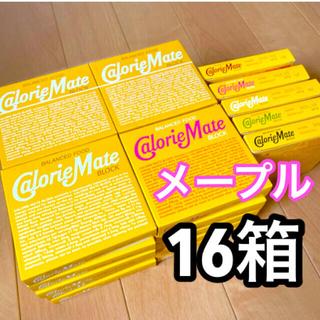 オオツカセイヤク(大塚製薬)の【メープル】カロリーメイト 16箱(菓子/デザート)