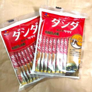 コストコ(コストコ)のコストコ ダシダ 2袋(調味料)