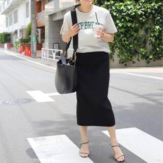 ドゥーズィエムクラス(DEUXIEME CLASSE)のDeuxiemeClasse rib タイトスカート(ひざ丈スカート)
