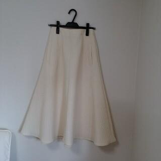 イエナ(IENA)の今期購入イエナIENA キルティングジャガードスカート◆(ロングスカート)