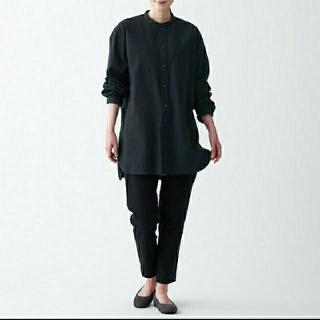 MUJI (無印良品) - 洗いざらしオックスミドル丈シャツ 男女兼用