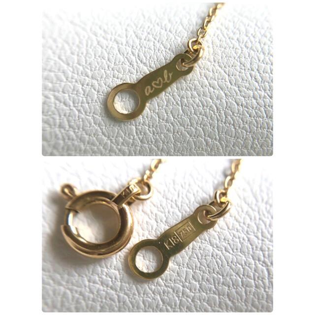 AHKAH(アーカー)のAHKAH  ハートモチーフ ダイヤモンドネックレス K18 レディースのアクセサリー(ネックレス)の商品写真