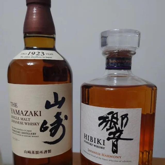 山崎 響 各700ml セット 食品/飲料/酒の酒(ウイスキー)の商品写真