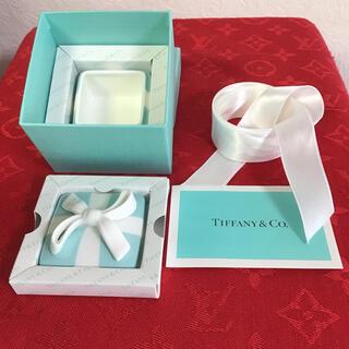 Tiffany & Co. - 新品未使用 ティファニーミニブルーボウボックス