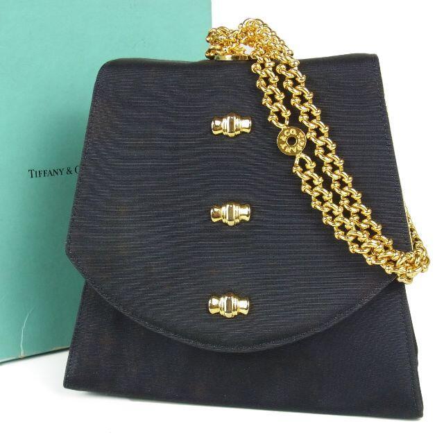 Tiffany & Co.(ティファニー)のティファニー ヴィンテージ リボン チェーン ミニ ハンドバッグ レディースのバッグ(ハンドバッグ)の商品写真