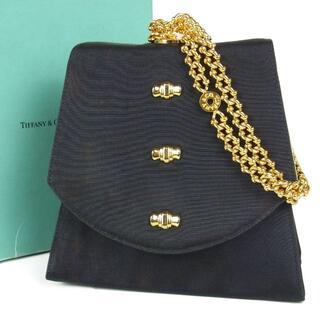 ティファニー(Tiffany & Co.)のティファニー ヴィンテージ リボン チェーン ミニ ハンドバッグ(ハンドバッグ)