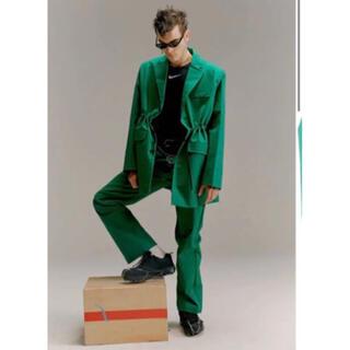 Maison Martin Margiela - yoikadakada オーバーサイズ テーラードジャケット グリーン 緑