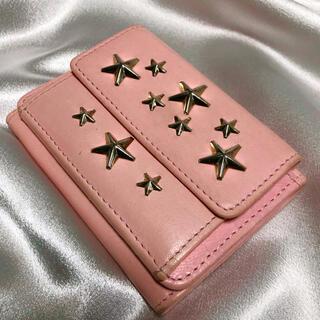 ジミーチュウ(JIMMY CHOO)のジミーチュウ 三つ折り財布  (3つ折り財布) JIMMY CHOO(財布)