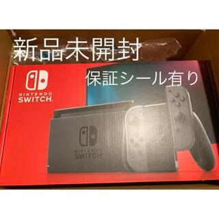 Nintendo Switch - Nintendo Switch スイッチ 本体 新品未開封 グレー
