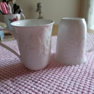 ウェッジウッド(WEDGWOOD)のWEDGWOOD マグカップ 2個(グラス/カップ)