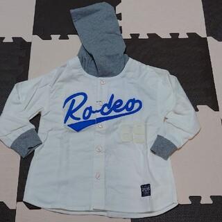 ロデオクラウンズワイドボウル(RODEO CROWNS WIDE BOWL)のフード付きシャツ(ジャケット/上着)