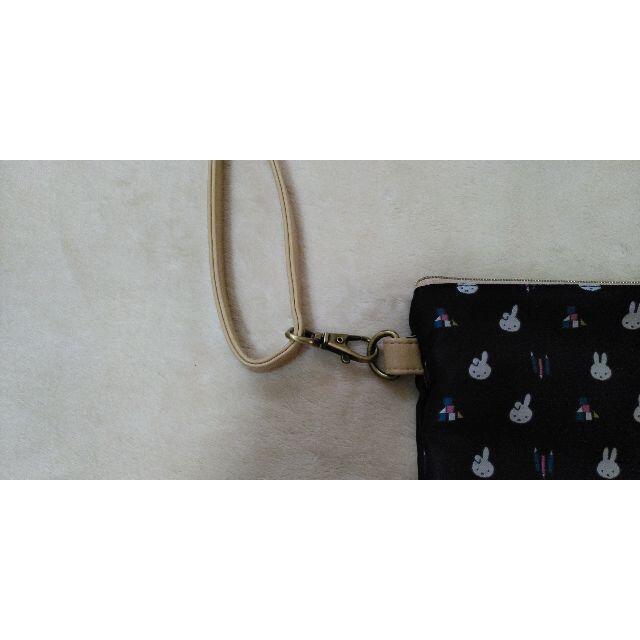 ミッフィー ジャガードシリーズ ショルダー バッグ ポーチ レディースのバッグ(ショルダーバッグ)の商品写真