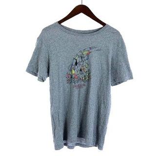 patagonia - パタゴニア Tシャツ カットソー 半袖 プリント コットン S グレー