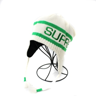 Supreme - シュプリーム 16AW ニット帽 ワッチキャップ ビーニー 帽子 白 緑