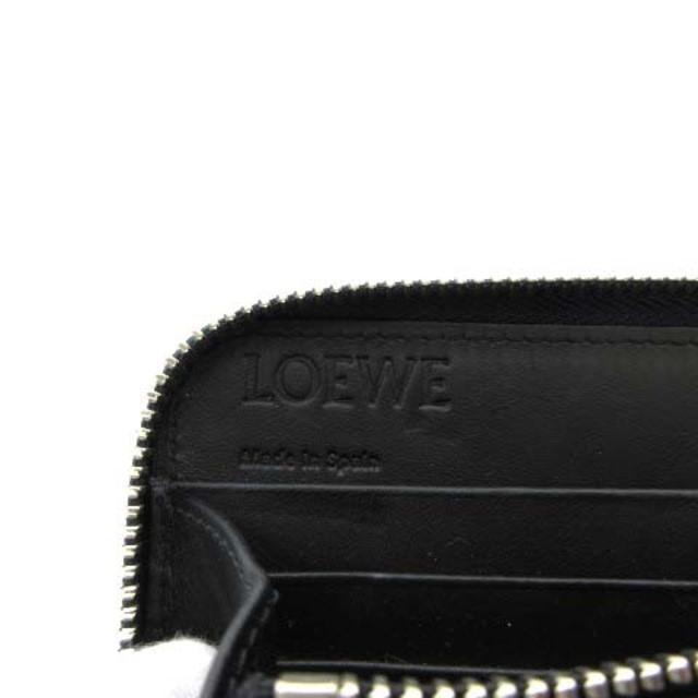 LOEWE(ロエベ)のロエベ LOEWE 長財布 ラウンドファスナー アナグラム レザー 紺 ネイビー レディースのファッション小物(財布)の商品写真