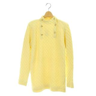 Courreges - クレージュ courreges ニット セーター プルオーバー 長袖 9R 黄