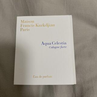 Maison Francis Kurkdjian - アクアセレスティアコローニュフォルテ 2ml