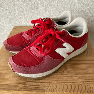 New Balance - newbalance ニューバランス220  赤/レッド 24.5cm
