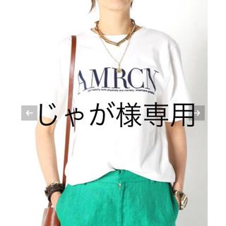 DEUXIEME CLASSE - 新品タグ付き AMERICANA  AMRCN Tシャツ