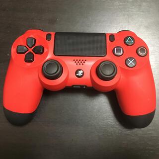プレイステーション4(PlayStation4)のPS4 コントローラー 純正 赤 レッド(その他)