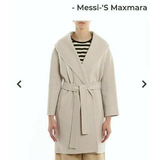 Max Mara - エスマックスマーラ MESSI ピュアウール ダブルフェイスコート
