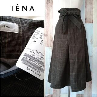 IENA - 未使用【IENA×CLASSYコラボ】グレンチェックフレアスカート