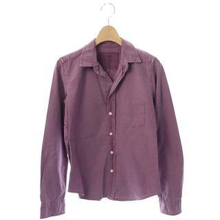フランクアンドアイリーン(Frank&Eileen)のフランク&アイリーン BARRY シャツ 長袖 前開き XS 紫 パープル(シャツ)
